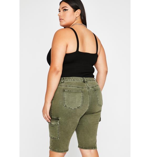 Mz Operation Baddie Bermuda Shorts