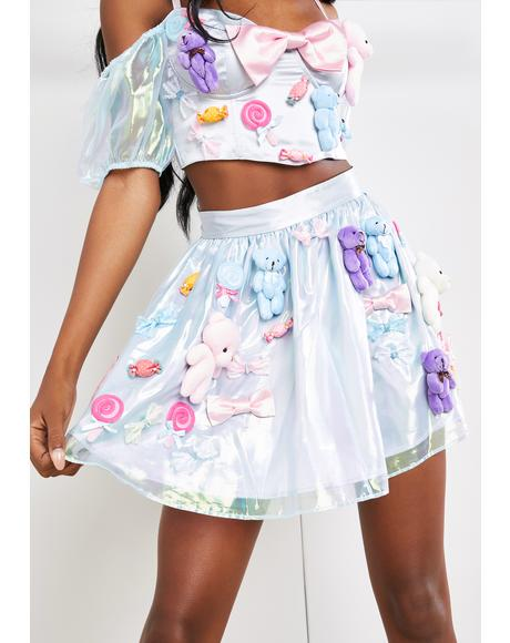 Sweet Masterpiece Mini Skirt