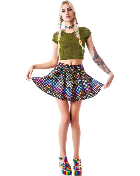 Emoji Skater Skirt