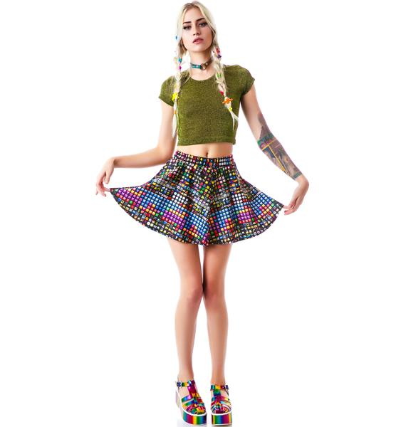 Zara Terez Emoji Skater Skirt
