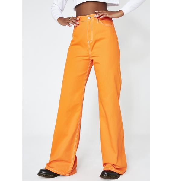 Dickies Girl Juiced Skater Wide Leg pants