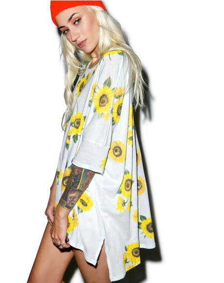 Contempo Sunflower Sunny Morning Tee