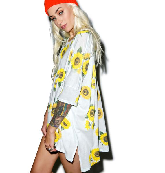 Wildfox Couture Contempo Sunflower Sunny Morning Tee