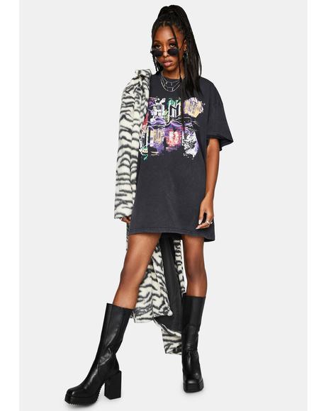 Storm T Shirt Dress