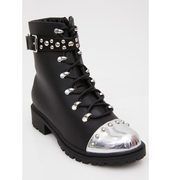 Kick 'Em To The Curb Moto Boots