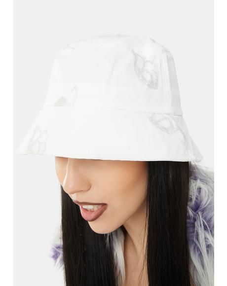 Fly Away Reflective Bucket Hat