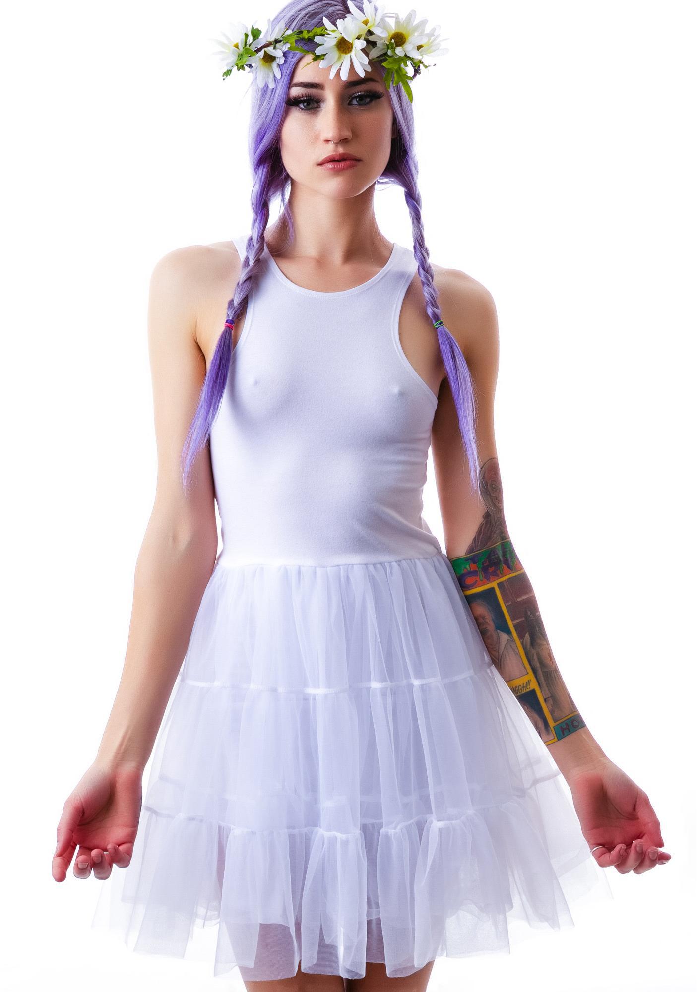 UNIF Frill Dress