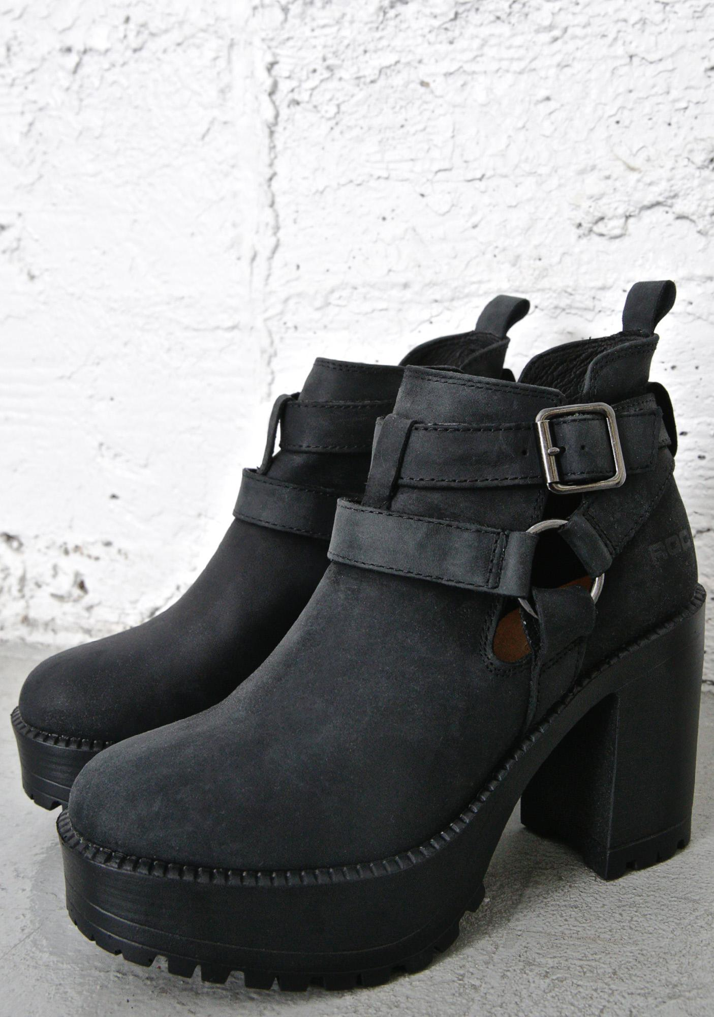 ROC Boots Packer Buckled Booties