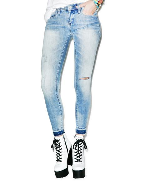 Water Wasted Jeans