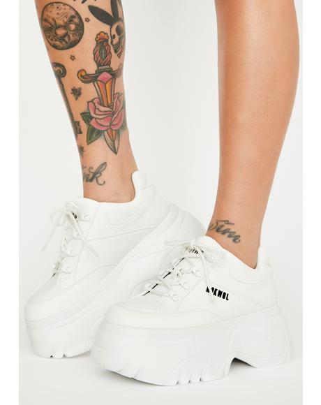 Scripter Platform Sneakers