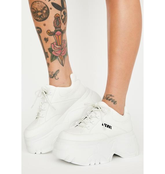 NOKWOL Scripter Platform Sneakers