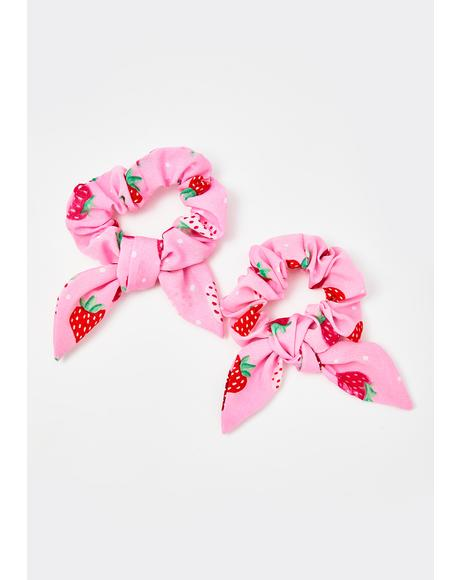Secret Berry Patch Scrunchie Set