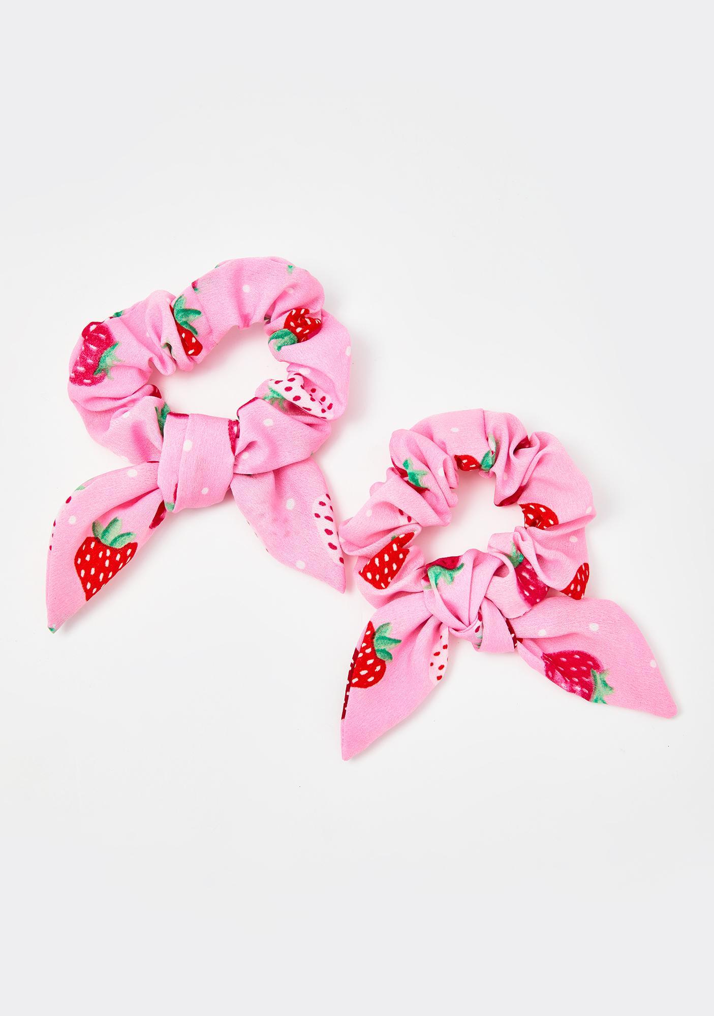 Secret Berry Patch Scrunchie Set