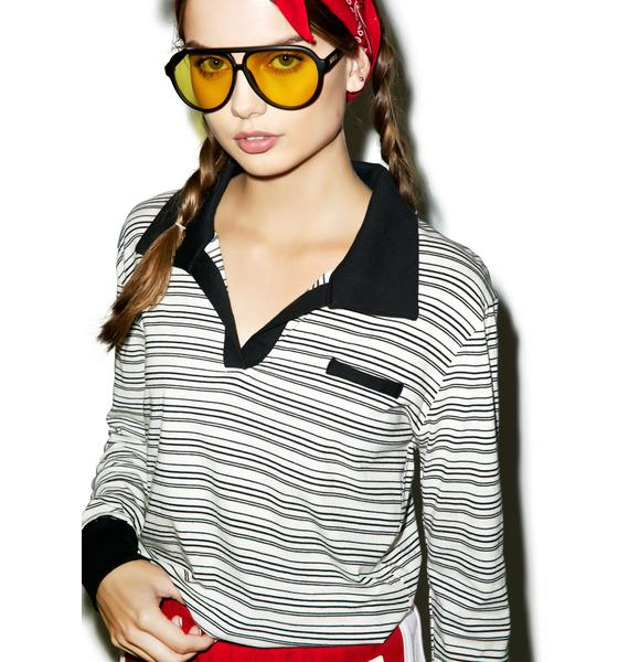 Camp Collection Miller Stripe Polo
