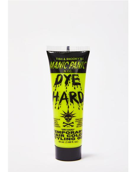Electric Banana Dye Hard Styling Gel