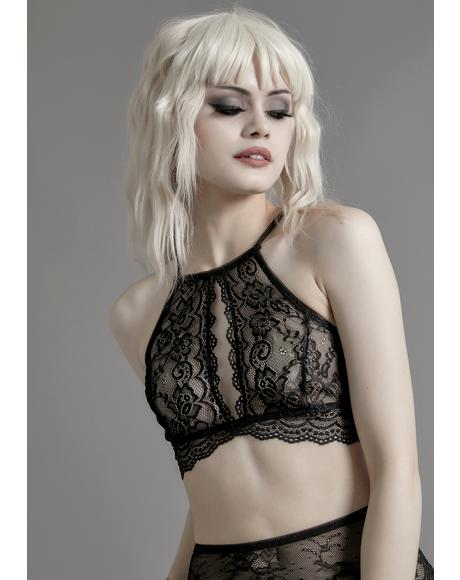 Final Requiem Halter Bra
