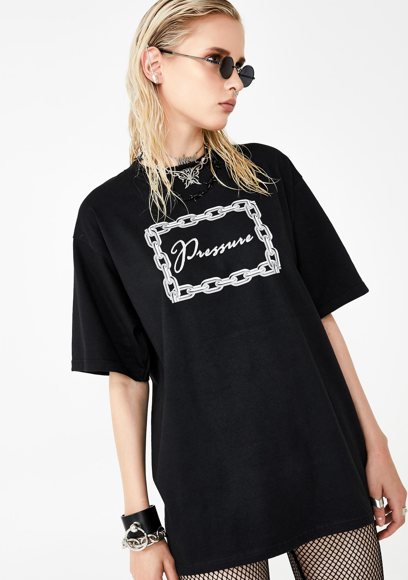 Pressure Clothes Chain Graphic Tee