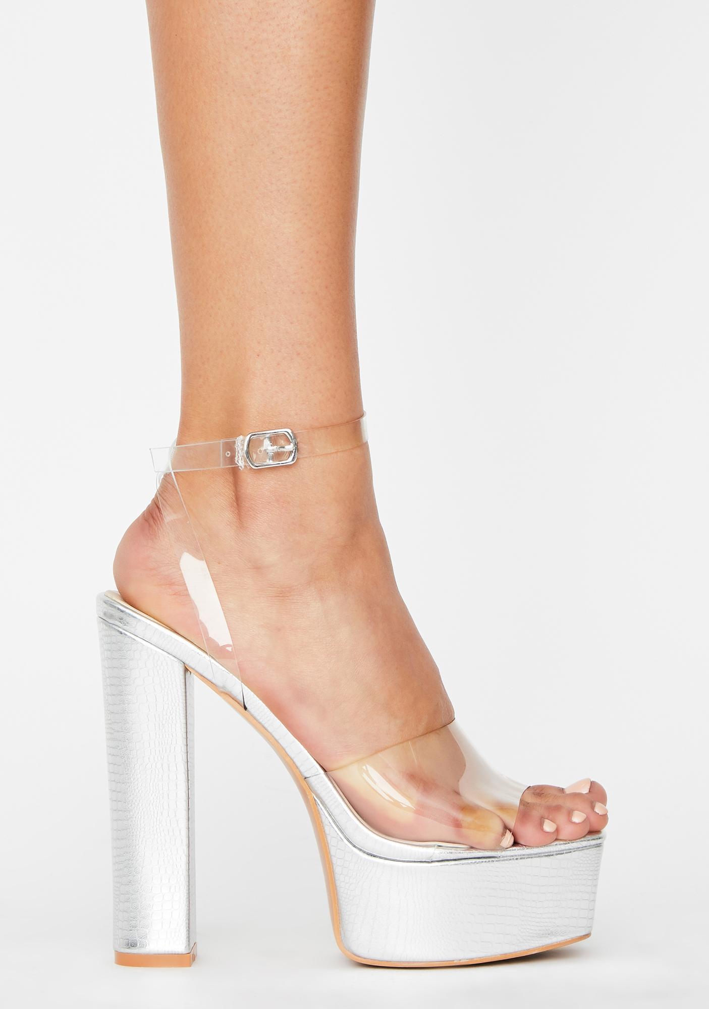 Diva Get It Done Platform Heels