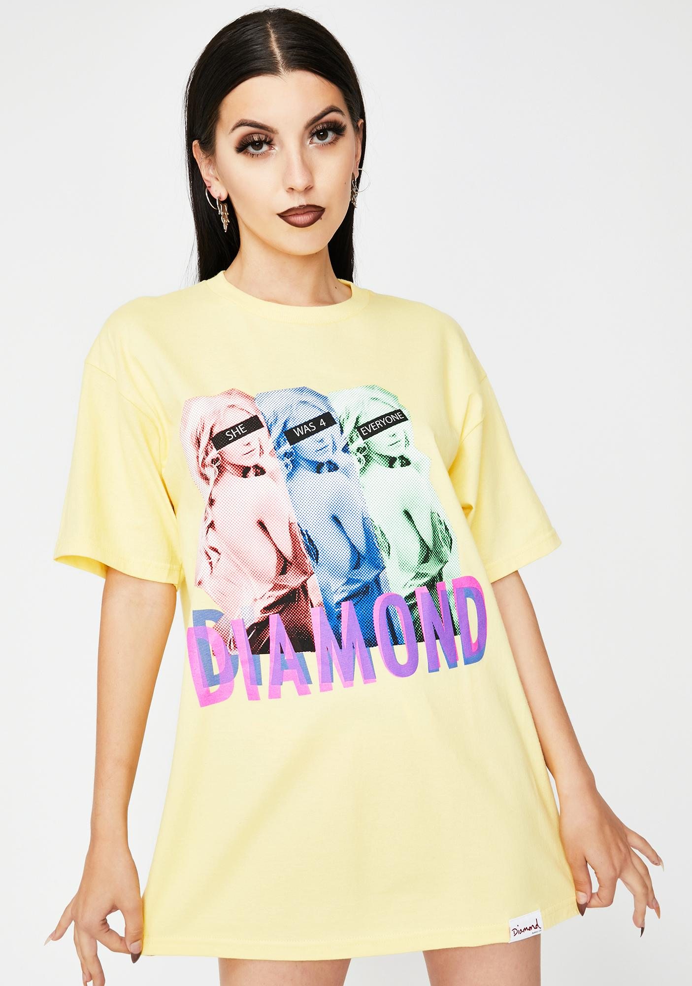 Diamond Supply Co For Everyone Else Graphic Tee
