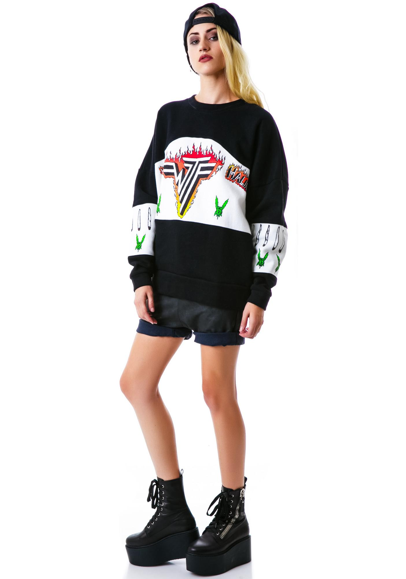 UNIF Inhalen Sweatshirt