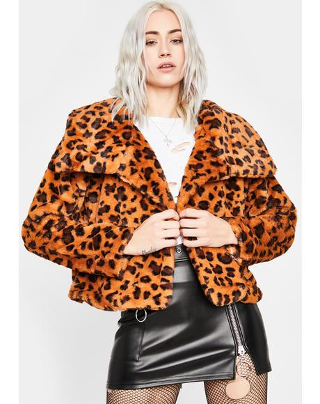 Pounce Back Faux Fur Jacket