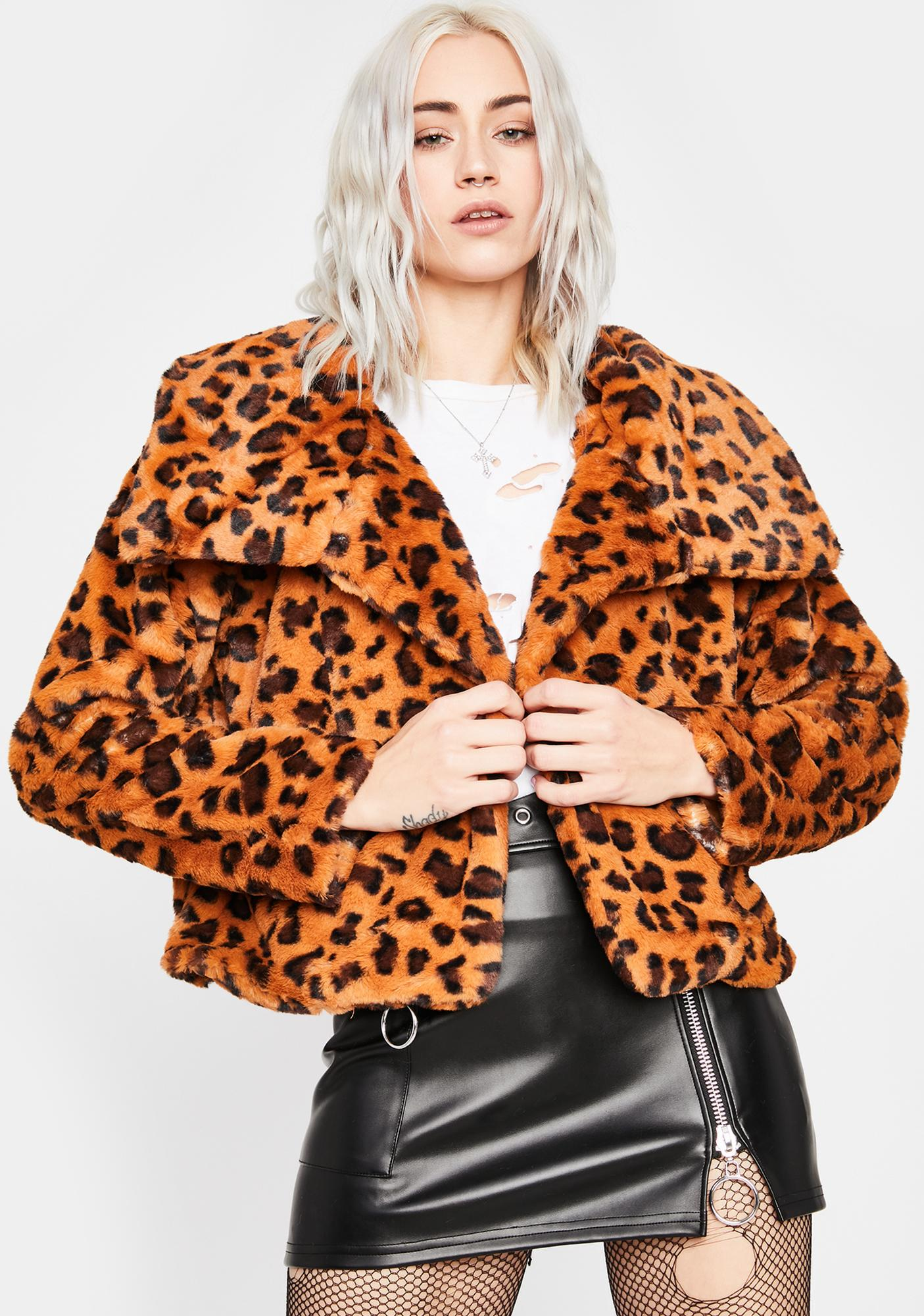 Pounce Back Faux Fur Jacket