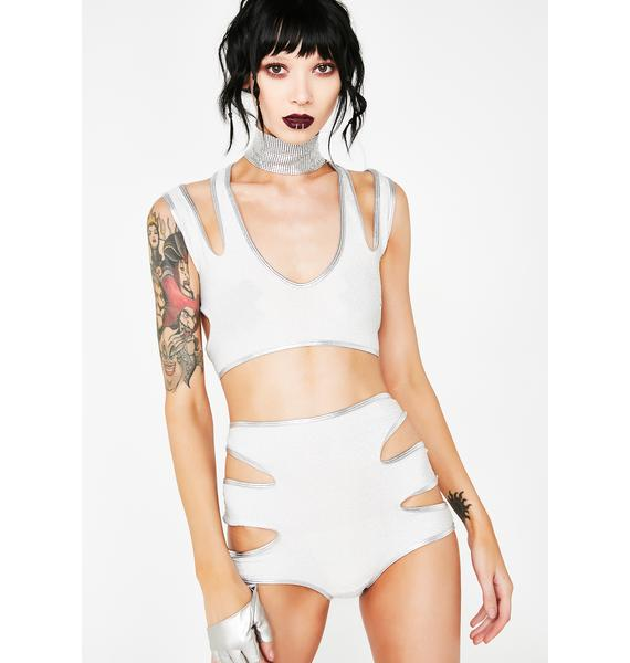 Space Beamin' Goddess Cut-Out Set