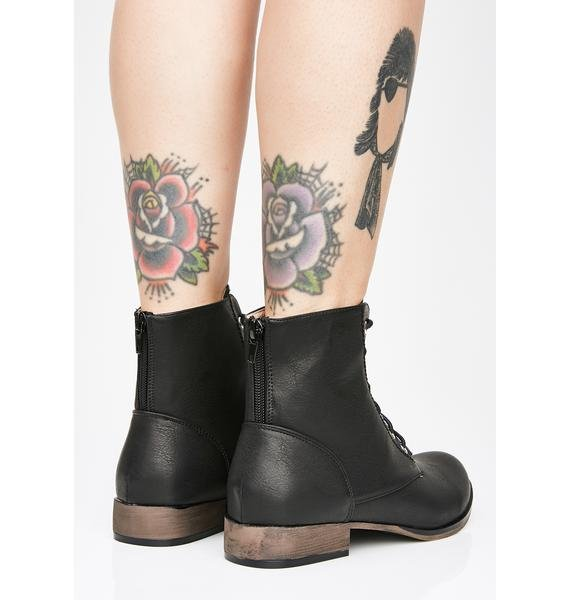 Highway To Hell Booties