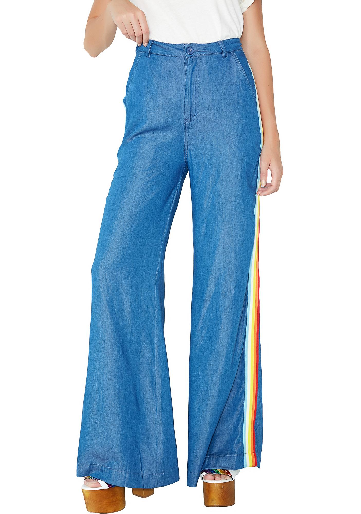 Summer Of Luv Denim Pants