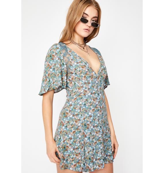 Love Too Good Floral Dress