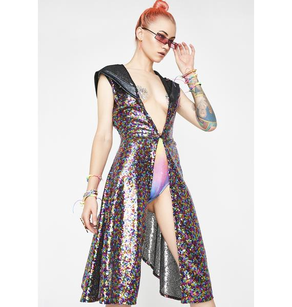 Sorcer-Yass Sequin Vest