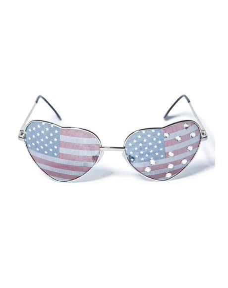 All American Girl Sunglasses