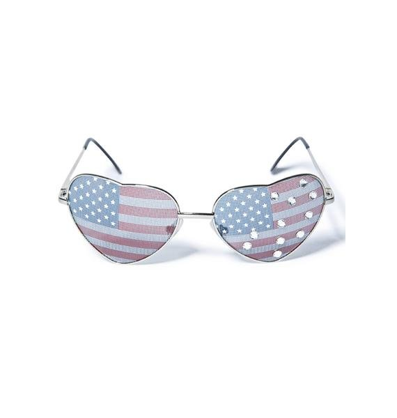 Gasoline Glamour All American Girl Sunglasses