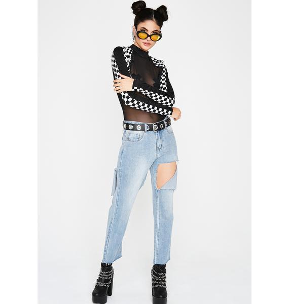 Check This Sheer Bodysuit