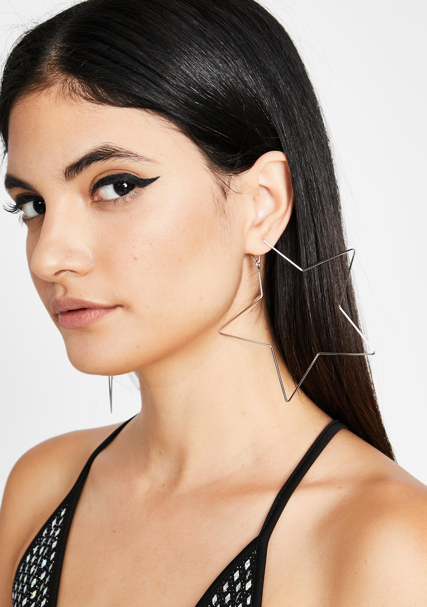 Ultimate Superstar Hoop Earrings