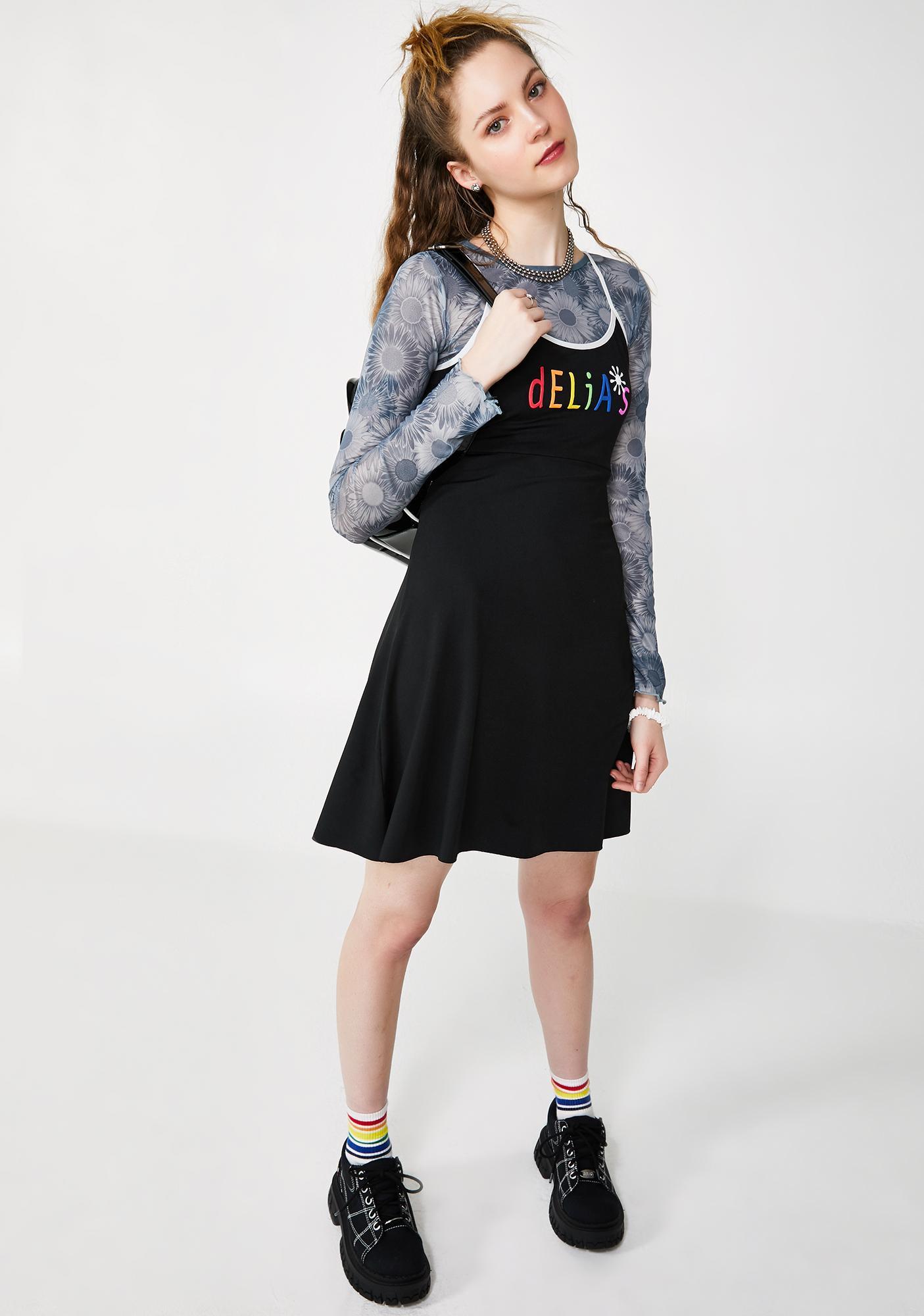 dELiA*s by Dolls Kill New Direction Slinky Dress