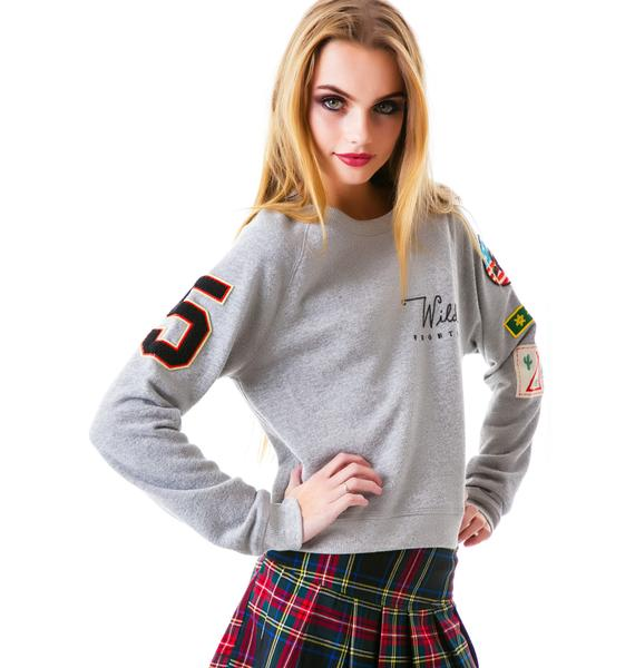 Junk Food Clothing Wild Frontier Pullover Sweatshirt