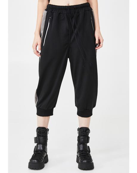 On The Run Cropped Joggers