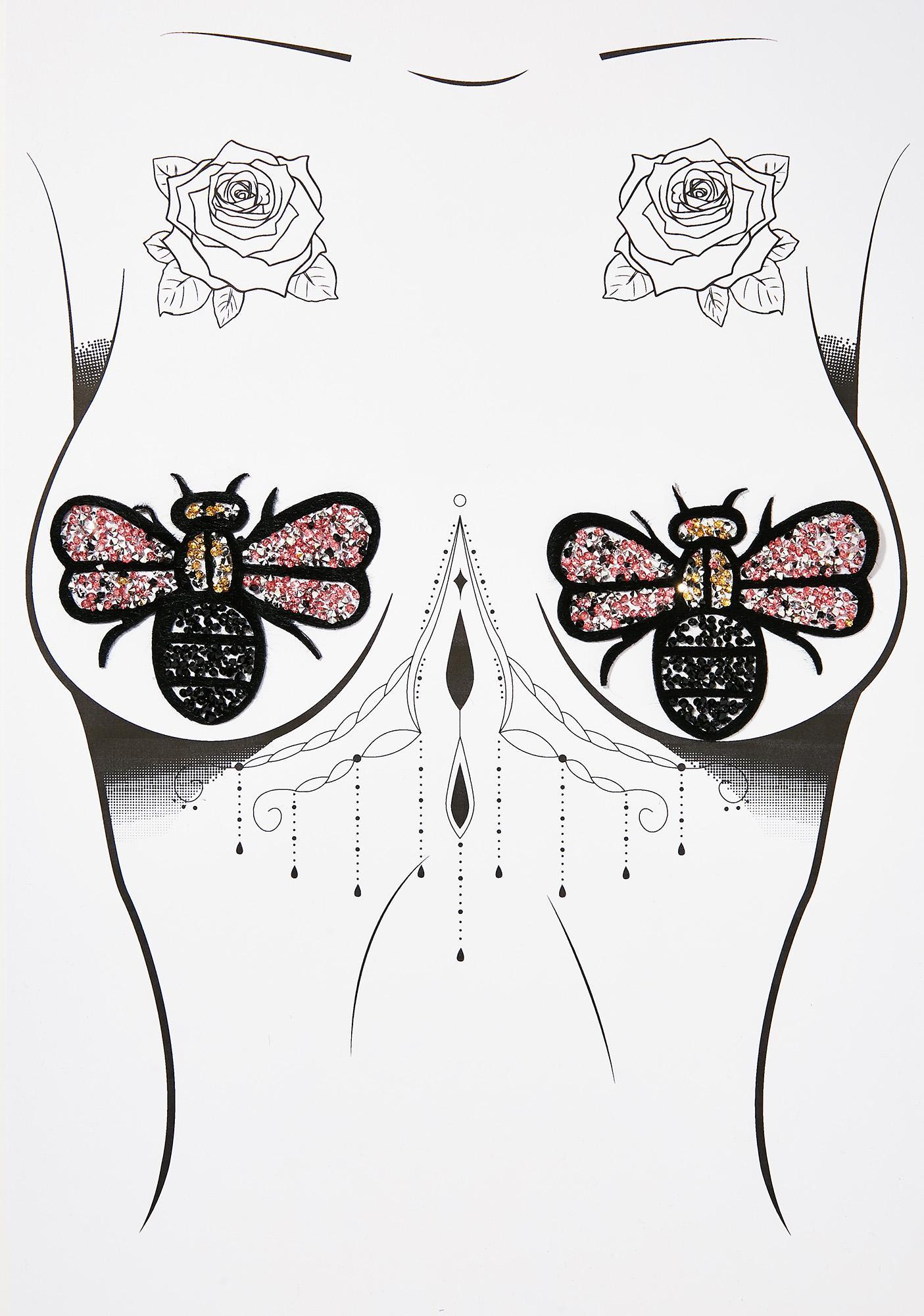 Neva Nude Bug Life Nifty Nipztix Pasties