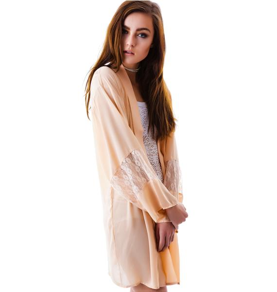 Moonlight Dream Lace Kimono