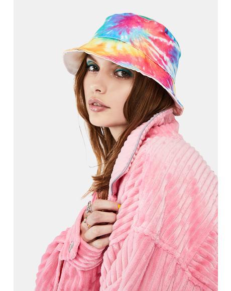 Ambrosia Puddin' Tie Dye Bucket Hat