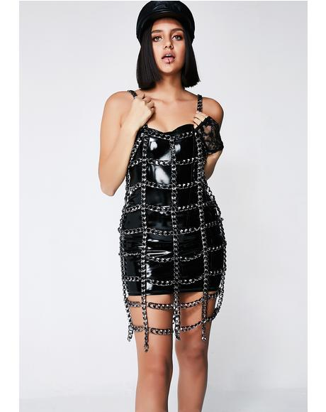 Hardwired Chain Dress