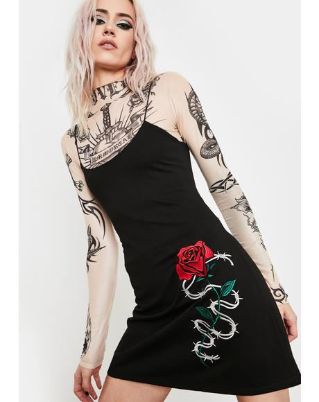 Sinful Misery Mini Dress