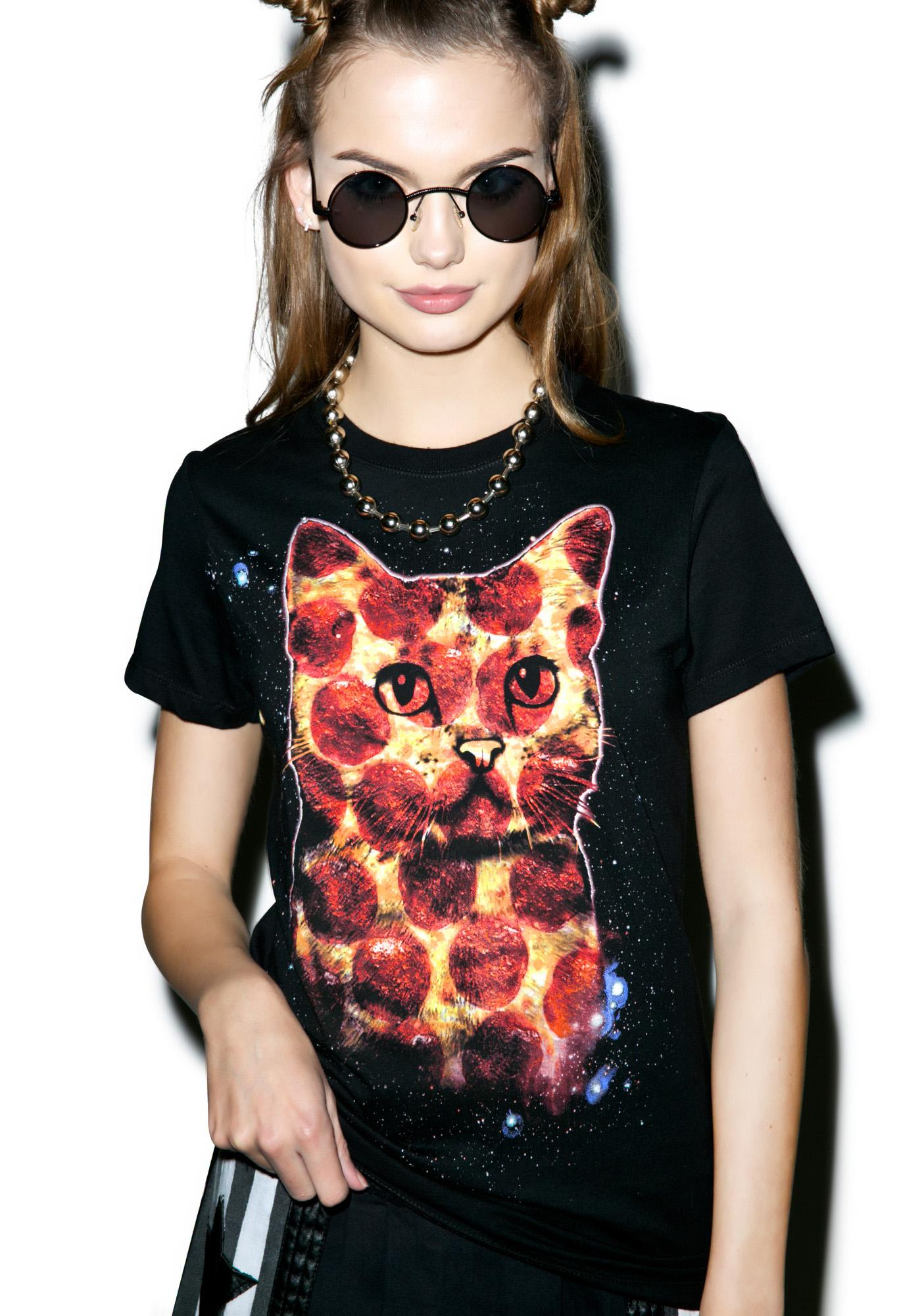 Pepperoni Pussycat Tee