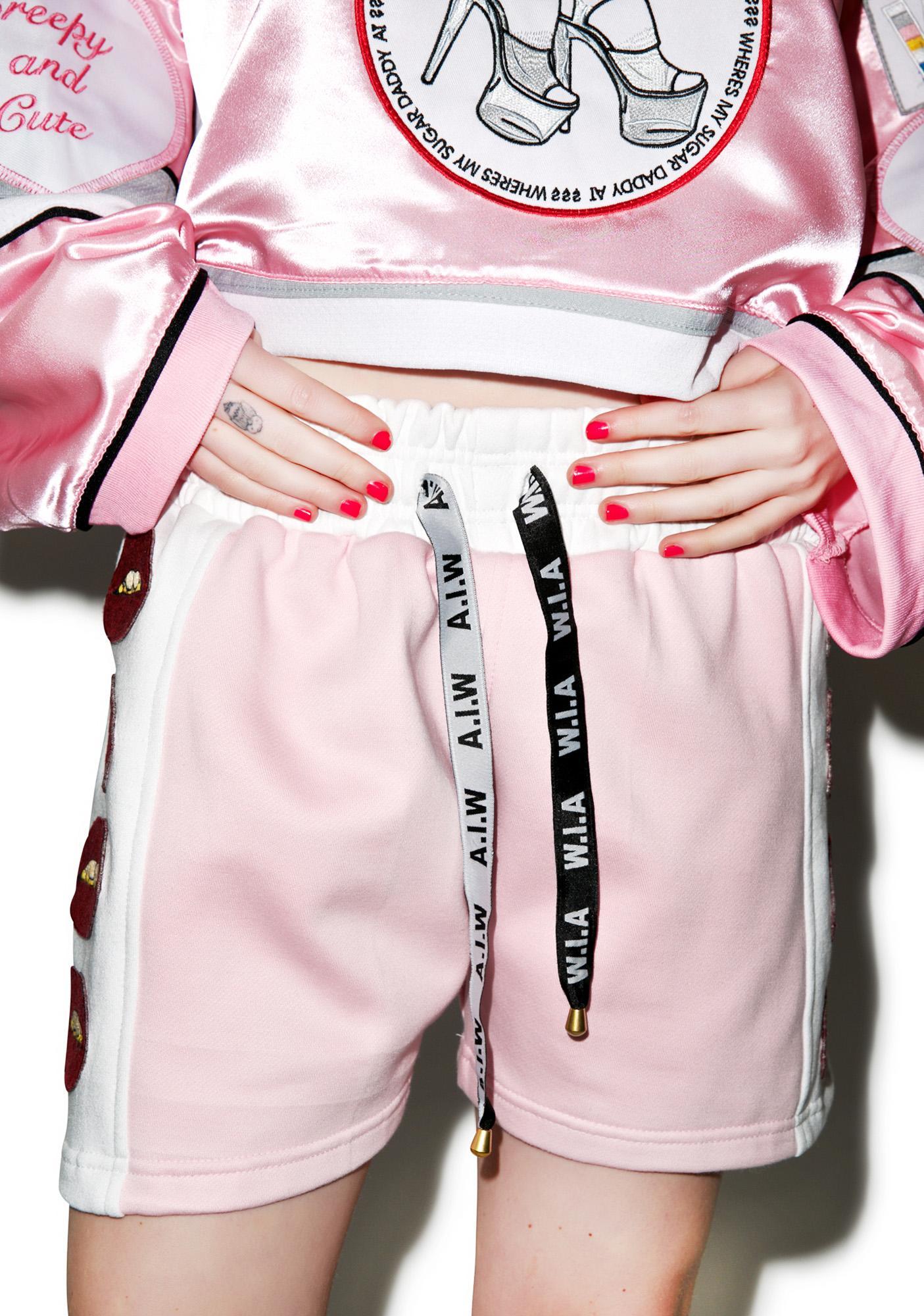 W.I.A Lips Shorts