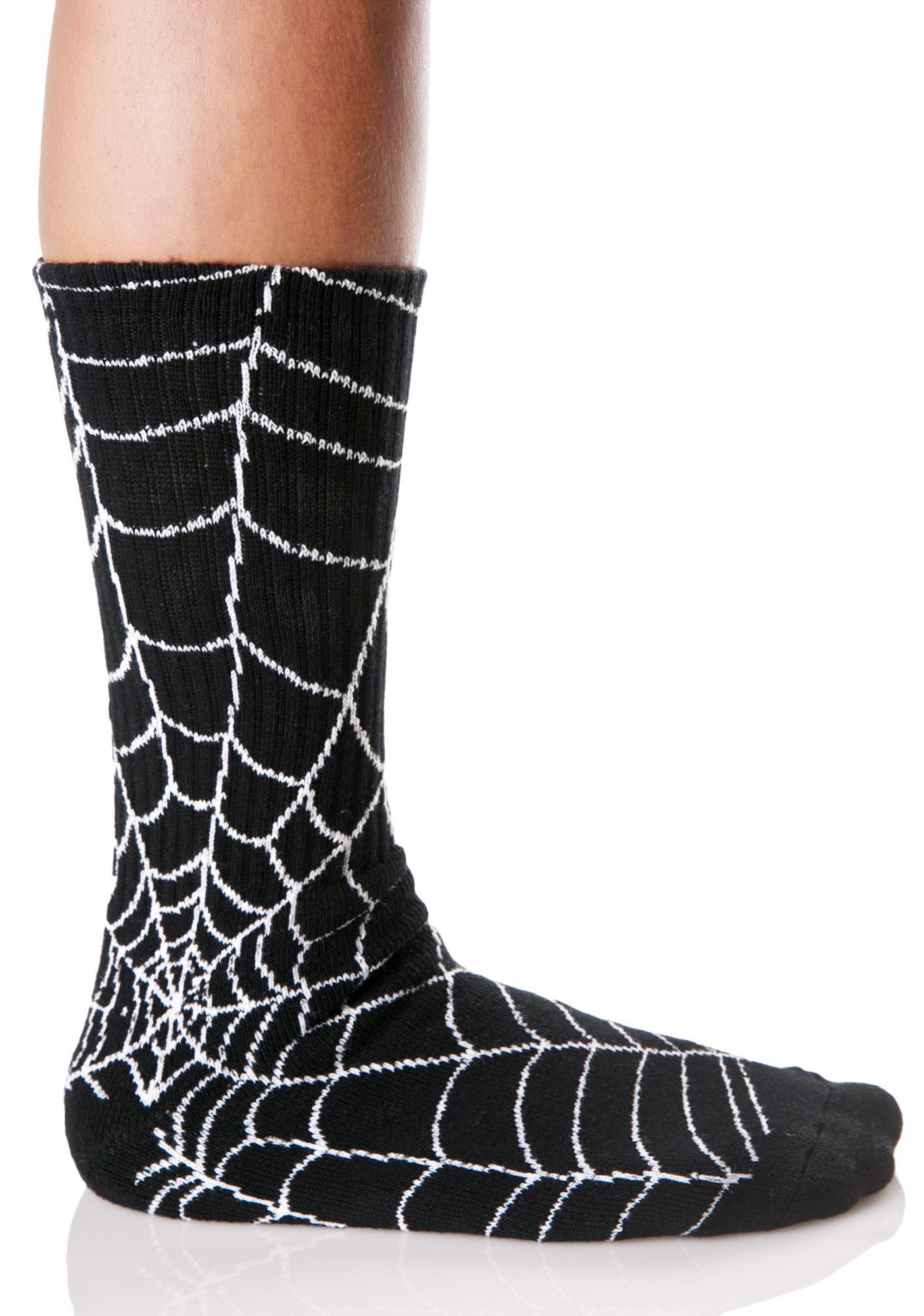 Odd Sox Spider Web Socks