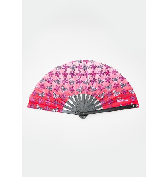 Daft Boy Flower Power Fan