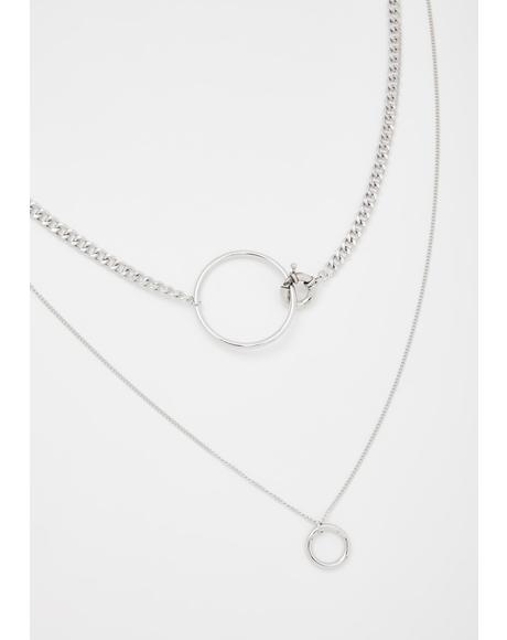 No Denying Layered Necklace