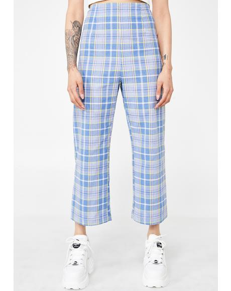 Wonder Years Plaid Pants