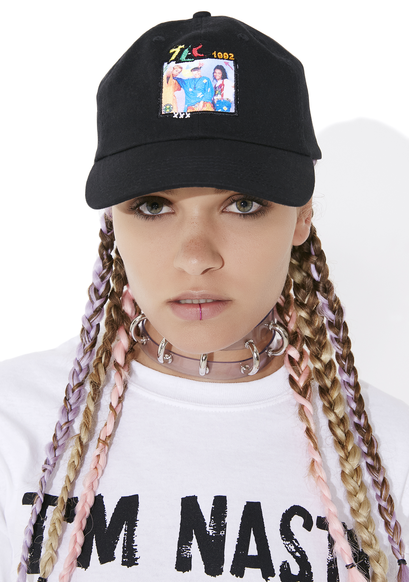 Cross Colours TLC Group Photo Dad Hat